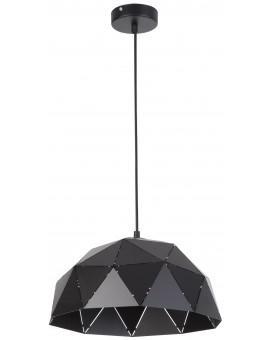Deckenlampe Hängelampe Design Modern Muster Lichteffekt ORIGAMI Schwarz M 31610