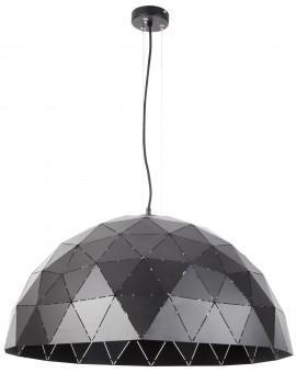 Deckenlampe Hängelampe Design Modern Muster Lichteffekt ORIGAMI Schwarz L 31608