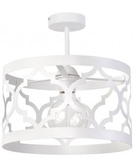 Lampe Deckenlampe Deckenleuchte Design Muster Lichteffekt MAROKO M Weiß 31597