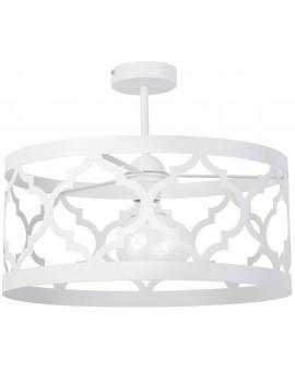 Lampe Deckenlampe Deckenleuchte Design Muster Lichteffekt MAROKO L Weiß 31595