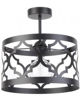 Lampe Deckenlampe Deckenleuchte Design Muster Lichteffekt MAROKO M Schwarz 31596