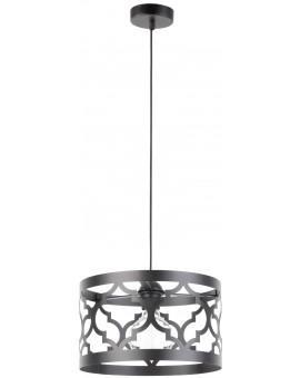 Lampe Deckenlampe Hängelampe Design Muster Lichteffekt MAROKO M Schwarz 31590