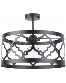 Lampe Deckenlampe Deckenleuchte Design Muster Lichteffekt MAROKO L Schwarz 31594