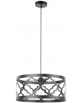 Lampe Deckenlampe Hängelampe Design Muster Lichteffekt MAROKO L Schwarz 31588