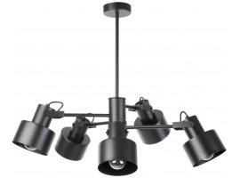 Lampe Deckenlampe Kronleuchter  Metall Modern METRO Schwarz 5 31580