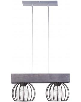 Hanging lamp MILAN gray 2 31706 SIGMA