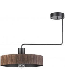 Lampe Deckenlampe Kronleuchter Modern Design VASCO Wenge 1-flg 31541