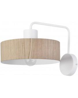 Wall lamp VASCO oak 31548 SIGMA