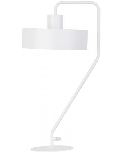 Lampe Tischlampe Nachtlampe Modern Design VASCO Weiß 50119