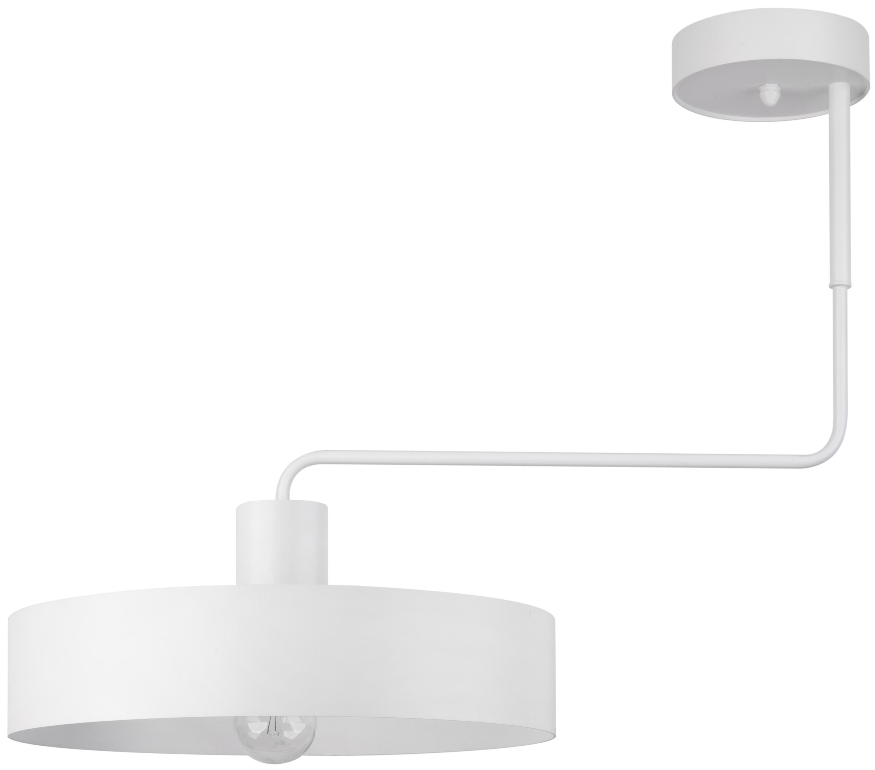 Lampe Deckenlampe Kronleuchter Modern Design Vasco Weiss 1 Flg 31550