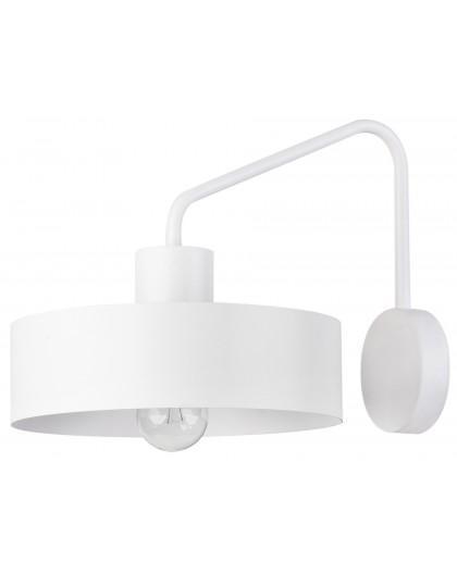 Lampe Wandlampe Wandleuchte Modern Metall JUMBO Weiß 31536