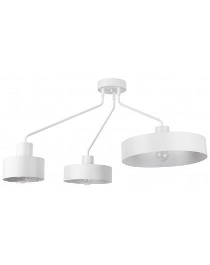 Lampe Deckenlampe Deckenleuchte Modern Metall JUMBO Weiß 31534