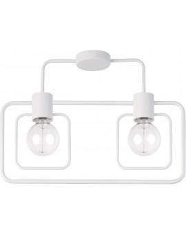 Ceiling lamp FREDO KWADRAT white 2 31506 SIGMA