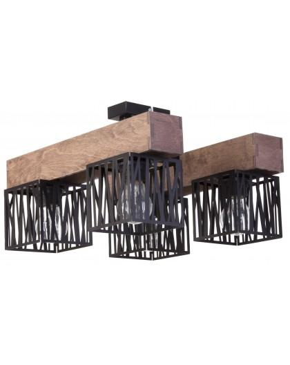 Ceiling lamp DALI black 4 31483 SIGMA
