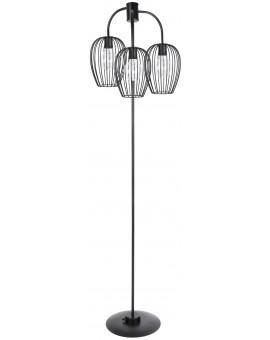 Stehlampe Standlampe BORA Schwarz 50129
