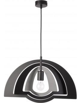 Lampe Deckenlampe Hängelampe Modern Design Metall Trik S Schwarz 31342