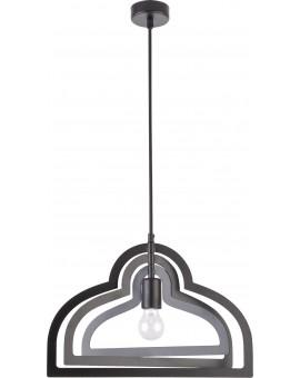 Lampe Deckenlampe Hängelampe Modern Design Metall Trik S Loft Schwarz 31186