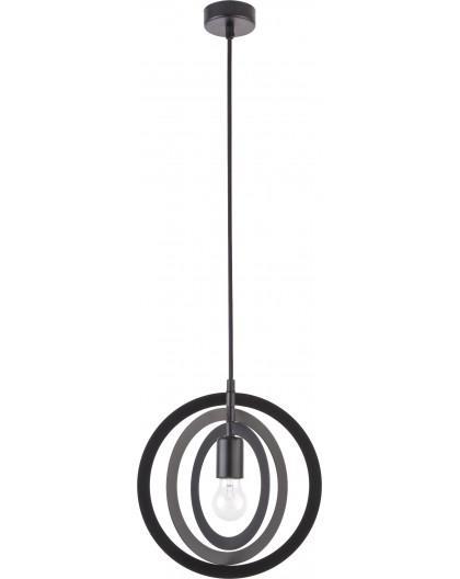 Hanging lamp Trik S round black 31174 Sigma