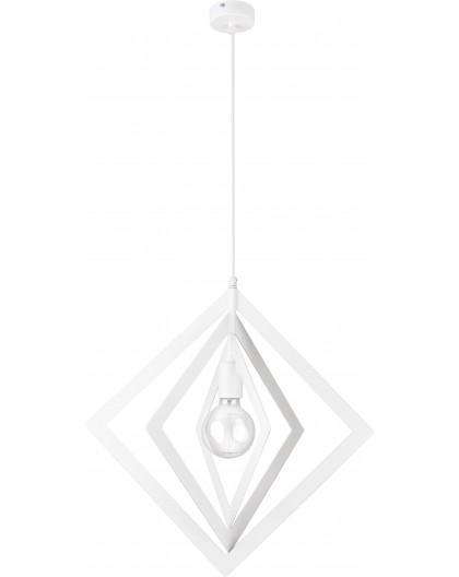 Hanging lamp Trik M romb white 31179 Sigma