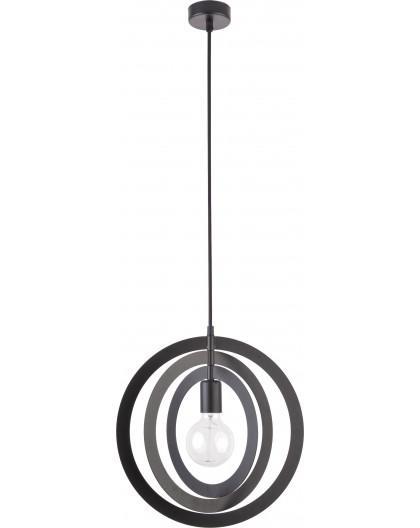 Hanging lamp Trik M round black 31173 Sigma