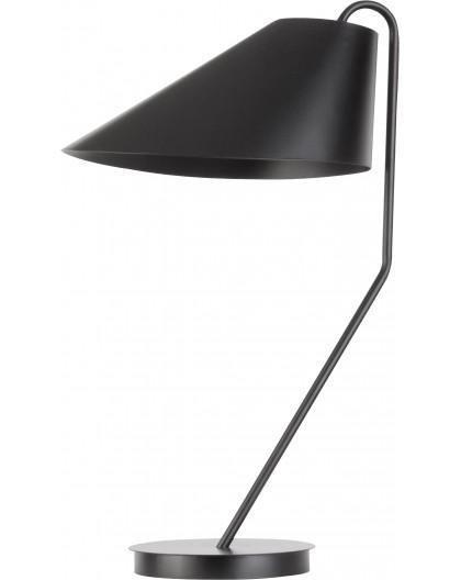 Lampe Tischlampe Nachtlampe Modern Design Metall Lora Schwarz 50072