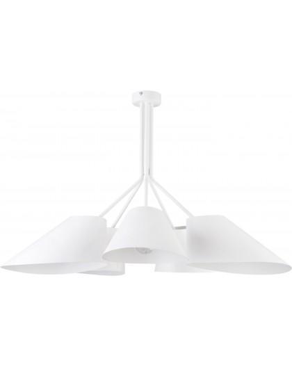 Lampa Żyrandol Lora 5 biały 31057 Sigma