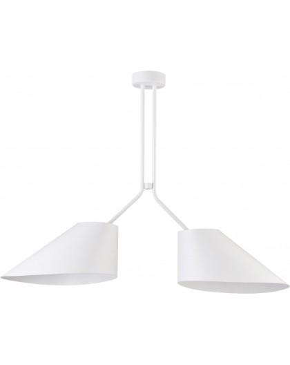 Lampa Żyrandol Lora 2 biały 31055 Sigma