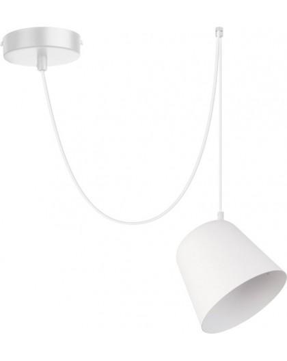 Lampa Zwis podwieszany Jawa 1 biały 31383 Sigma