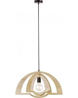 Lampe Deckenlampe Hängelampe Modern Design Holz Glam 31282