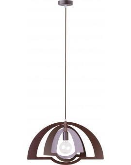 Lampe Deckenlampe Hängelampe Modern Design Holz Glam Wenge 31286