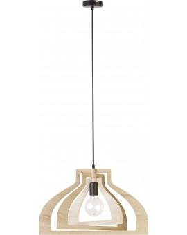 Lampe Deckenlampe Hängelampe Modern Design Holz Glam Loft 31362