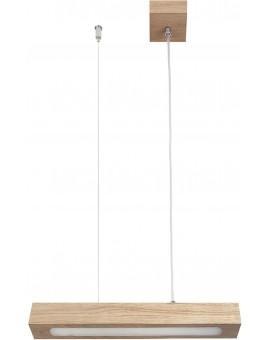 Deckenlampe Hängelampe Modern Design Futura Wood Low 30 Holz Eiche 32701
