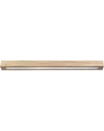 Ceiling lamp Futura Wood Low 60 oak 32707 Sigma