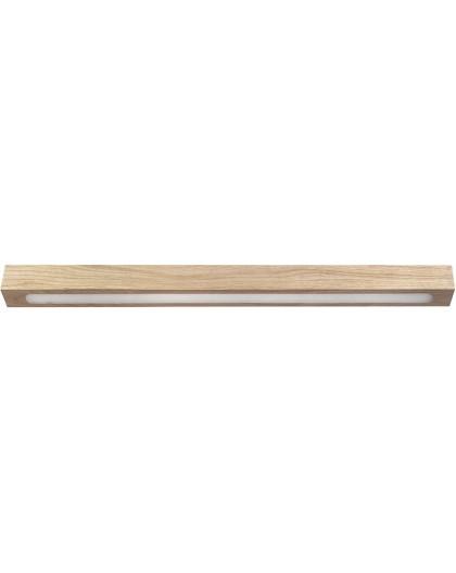 Deckenlampe Deckenleuchte Modern Design Futura Wood Low 60 Holz Eiche 32707