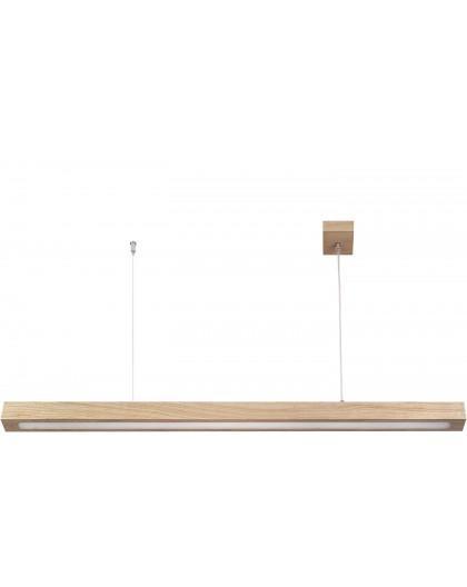 Hanging lamp Futura Wood Low 60 oak 32705 Sigma