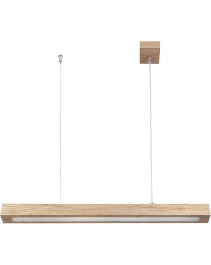 Deckenlampe Hängelampe Modern Design Futura Wood Low 90 Holz Eiche 32709
