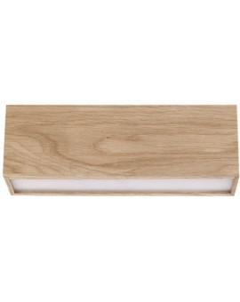 Ceiling lamp Futura Wood 30 oak 32687 Sigma