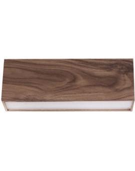 Lampa sufitowa Futura Wood 30 orzech 32688 Sigma