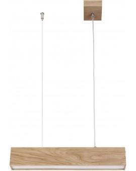 Deckenlampe Hängelampe Modern Design Futura Wood 60 Holz Eiche 32690