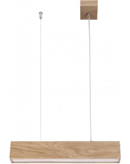 Hanging lamp Futura Wood 60 oak 32690 Sigma