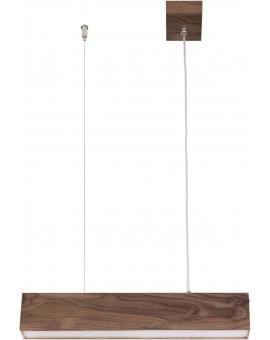 Deckenlampe Hängelampe Modern Design Futura Wood 60 Holz Nussbaum 32691