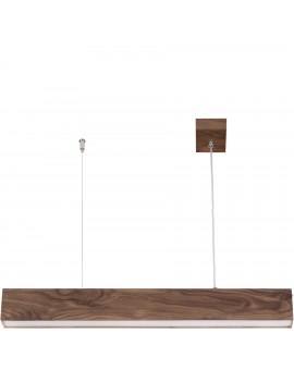 Deckenlampe Hängelampe Modern Design Futura Wood 90 Holz Nussbaum 32697