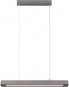 Deckenlampe Hängelampe Modern Design Stahl Futura Steel 66 Schwarzgrau 32750