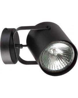 Wandlampe Wandleuchte Modern Design Metall Flesz E27 Schwarz 31350