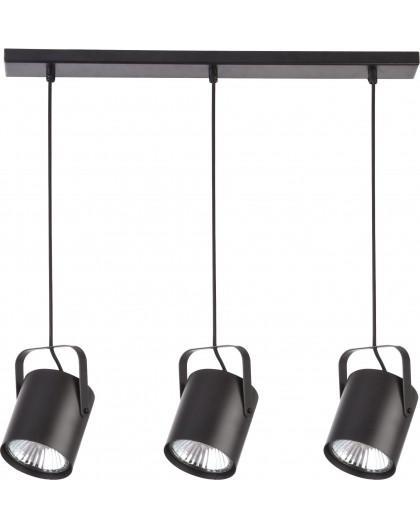 Hanging lamp Flesz E27 3 black E27 31083 Sigma