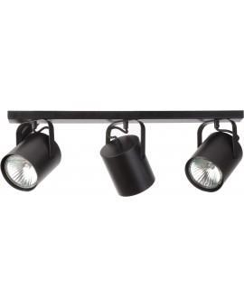 Lampa Plafon Flesz E27 3 czarny E27 31230 Sigma