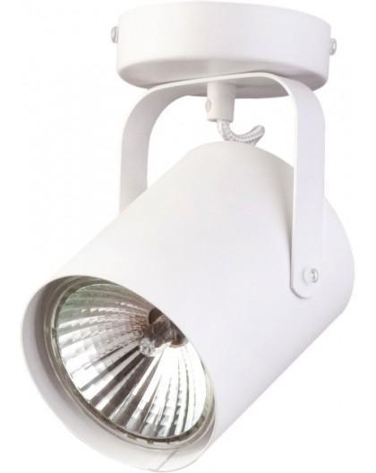 Deckenlampe Deckenleuchte Spot Modern Metall Flesz E27 1-flg Weiß 31095