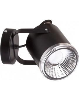 Kinkiet Flesz GU10 czarny z żarówką 32682 Sigma