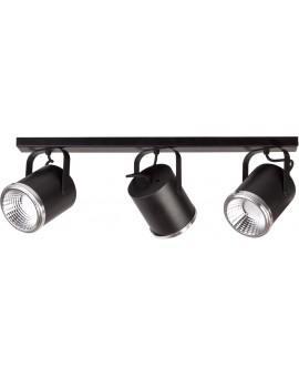 Lampa Plafon Flesz GU10 z żarówką 3 czarny 32671 Sigma
