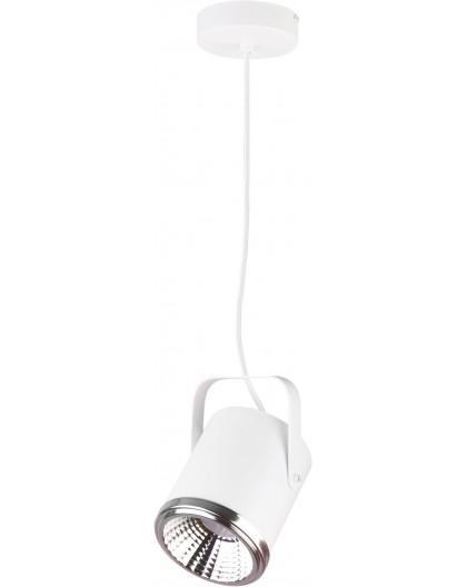 Lampa Zwis Flesz GU10 z żarówką 1 biały 32678 Sigma